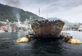 Portal 180 - Barco del explorador Amundsen vuelve a Noruega un siglo después