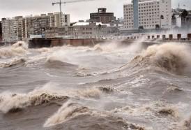 Portal 180 - Cesó advertencia naranja para Montevideo; permanecen zonas de Maldonado y Rocha