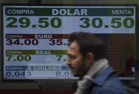 Portal 180 - Se acentúa la caída del peso en Argentina, sometida a presión inflacionaria