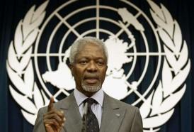"""Portal 180 - Murió Kofi Annan, el secretario general de la ONU que fue """"estrella"""" de la diplomacia"""