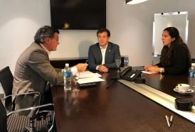 Portal 180 - Domínguez se reunió con Bordaberry en la AUF