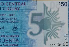 Portal 180 - BCU lanzó el nuevo billete de 50 pesos