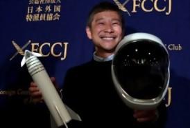 """Portal 180 - Japonés que irá a la luna en la nave SpaceX no espera un entrenamiento """"muy duro"""""""