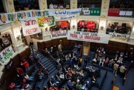 Portal 180 - Las fotos de la elección en la UdelaR