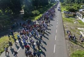 """Portal 180 - Migrantes hondureños siguen """"pa'delante"""" huyendo de donde """"la vida no vale nada"""""""