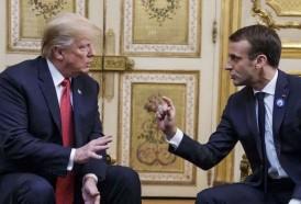 """Portal 180 - Los tuits de Trump contra Macron """"escritos para los estadounidenses"""""""