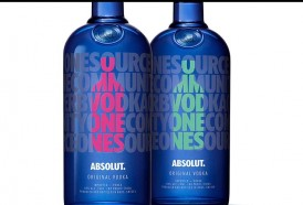 Portal 180 - Absolut lanzó a la venta en Uruguay su nueva botella edición limitada inspirada en el amor