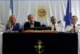 """Portal 180 - Argentina """"no tiene medios"""" para rescatar los restos del submarino"""