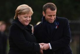 Portal 180 - Frente unido de Merkel y Macron en Berlín contra Donald Trump