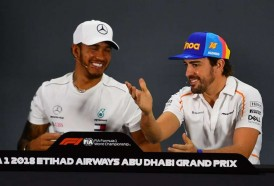 Portal 180 - Hamilton ganó el GP de Abu Dabi de Fórmula 1, la última carrera de Alonso