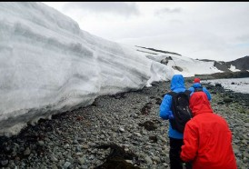 """Portal 180 - El clima de """"ciencia, paz y cooperación"""" en Antártida"""