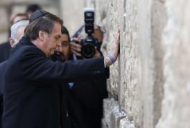 Portal 180 - Bolsonaro visita el Muro de los Lamentos junto con Netanyahu