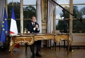 """Portal 180 - Macron quiere reconstruir Notre Dame """"en cinco años"""""""