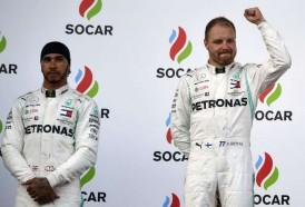Portal 180 - Doblete de Mercedes con Bottas delante de Hamilton en GP de Azerbaiyán