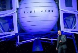 """Portal 180 - El jefe de Amazon desvela un vehículo de alunizaje llamado """"Blue Moon"""""""