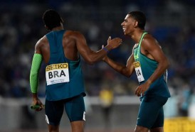 Portal 180 - Brasil sorprendió a Estados Unidos y ganó el Mundial de relevos de 4x100 metros