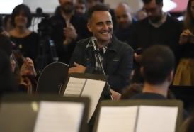 Portal 180 - Drexler con los músicos juveniles en el Auditorio
