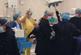 Portal 180 - Equipo del Maciel voló para operar a paciente que no podía trasladarse