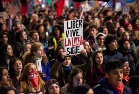 Portal 180 - Las fotos de la Marcha por el Día de los Mártires Estudiantiles