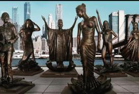 Portal 180 - Develan estatuas de mujeres famosas en Nueva York en proyecto por equidad