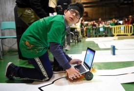 Portal 180 - Las fotos del concurso de robótica en la Facultad de Ingeniería