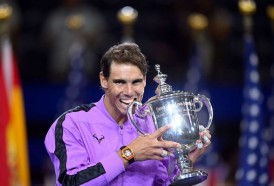 Portal 180 - Rafa Nadal ganó el US Open y quedó a un torneo grande del record de Federer