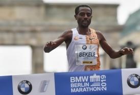 Portal 180 - Bekele quedó a dos segundos del récord del mundo de maratón en Berlín