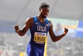 """Portal 180 - Lyles, tras ganar su primer título mundial en 200 metros: """"No soy el nuevo Bolt"""""""
