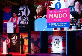 Portal 180 - El Maido, de Perú, repite como mejor restaurante de Latinoamérica; La Huella, único uruguayo en la lista