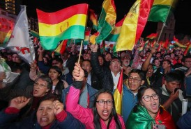 Portal 180 - Miles de bolivianos claman contra Evo Morales a pocos días de las elecciones