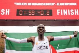 Portal 180 - Kipchoge es la primera persona en bajar de dos horas en un maratón