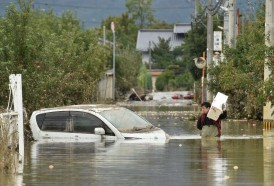 Portal 180 - Al menos 56 muertos en Japón por el tifón, donde se prevén más lluvias