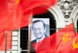Portal 180 - Vázquez participó de las honras fúnebres a Eduardo Bleier