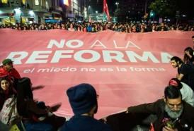 Portal 180 - Las imágenes de la marcha contra la reforma Vivir sin miedo