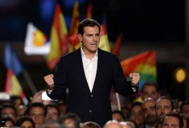 Portal 180 - España: líder de Ciudadanos deja la política tras descalabro electoral