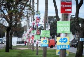 Portal 180 - Ningún partido cumplió normativa sobre cartelería política
