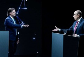 Portal 180 - Los cruces entre Lacalle y Martínez durante el debate