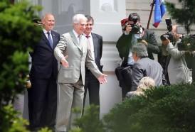 Portal 180 - Vázquez recibió a Alberto Fernández, presidente electo de Argentina