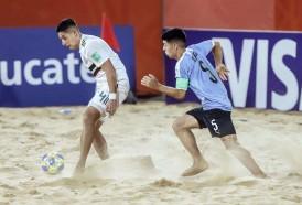 Portal 180 - Uruguay debutó con victoria en la hora ante México en el Mundial de Fútbol Playa