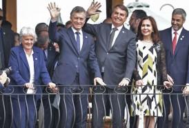 Portal 180 - Bolsonaro marca el terreno del Mercosur, en espera de Fernández en Argentina