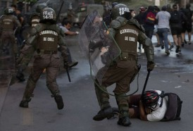 """Portal 180 - Comisión de la OEA condena el """"uso excesivo de la fuerza"""" en las protestas en Chile"""