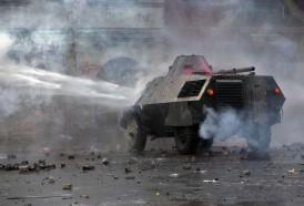 Portal 180 - Violentos disturbios en Chile 50 días después del estallido social