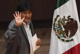 Portal 180 - Evo Morales dejó México y partió hacia Cuba