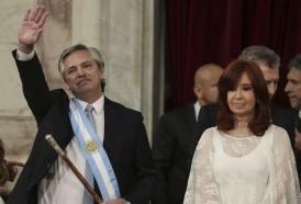 Portal 180 - Las imágenes de la asunción de Alberto Fernández en Argentina