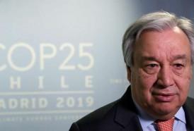 """Portal 180 - Guterres: """"Estoy decepcionado con los resultados de la COP25"""""""