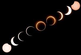 """Portal 180 - Inusual eclipse """"anillo de fuego"""" en Asia"""