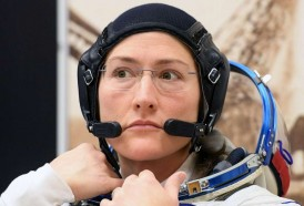 Portal 180 - Astronauta Koch batió el récord de una mujer en el espacio