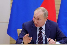 """Portal 180 - Putin insiste en la necesidad de organizar """"la transferencia de poder en Rusia"""""""