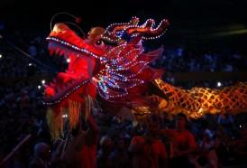Portal 180 - Las imágenes de la celebración del Año Nuevo chino en Montevideo
