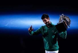 Portal 180 - Djokovic ganó por octava vez en Australia y recuperó el número 1
